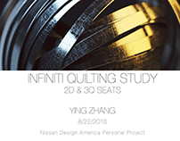 INFINITI QUILTING STUDY