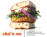 Chef'n me: Discover the chef in you.
