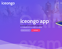 Web site development for IceOnGo