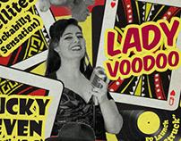 Rockabilly + Swing - gig poster