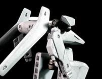 3D printed robot model Nashron