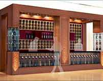 """Drink store"" Italy - Booth Design proposal"