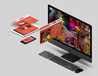 Holi(Festival) Responsive Website