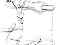 Trumpeter illustration