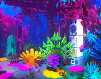 IQIYI VR Animation Hall scene design