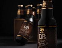 OB Beer | Package Design