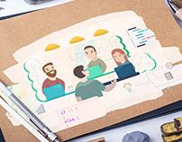 Programming Course Illustrations