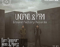UNDFND & PRML (Ground Factory Records) - Le Plug