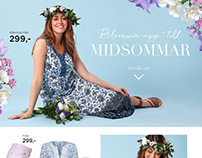 MIDSUMMER FASHION LOOKBOOK for Cellbes 2016