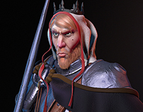 The King - character design (IFCC)