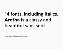 Aretha —Classy and beautifully. Free Aretha Light.
