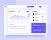 Dashboard Design Exploration (Healthcare)