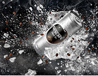 "Nescafe ""Black Ice"" Campaign"
