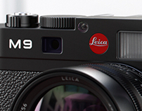 3D Product Visualization - Leica M9