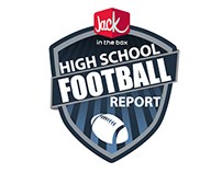 High School Football Report Logo