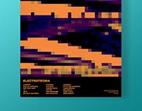 Electrotecnia Festival  de Música. Cartel/Tríptico.