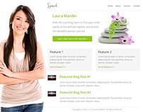 WordPress Theme Concept - Spark