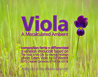 Viola - Audio Track Cover - A Miscalculated Ambient