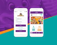Chuck E. Cheese's More Cheese Rewards App Re-Design