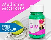 Free Medicine mockup