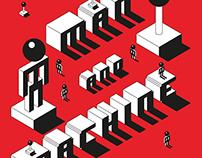 Man & Machine - Exhibition Poster Series