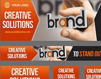 Advertising Company Premium Banner Designs