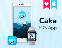 Cake - Share Panda Emojis & Chat with Friends - iOS App