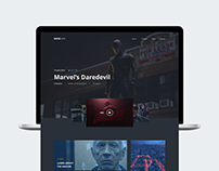 Movie Hub | Website Concept
