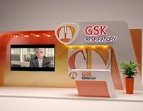 GSK respiratory booth