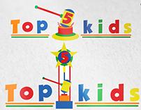 Logo Concurso (Logo Vencedora) - Top 5 Kids