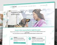ACAC - Website Design