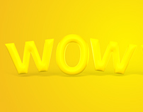 Wowwee 3D Text