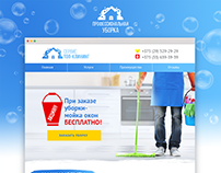 Website | Cleaning service