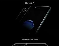 iPhone 7 Black Edition MockUp