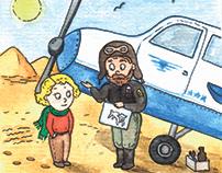 Иллюстрация Маленький принц, illustration Little Prince