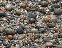San Diego - Torrey Pines Beach - Polished Rocks