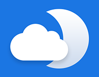 iOS Design concept of weather app