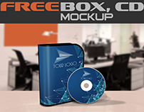 Free mock-up box software and CD