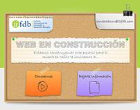 web under construction del IIFDB