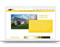 Modern responsive website for Real Estate project