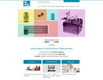 EM Pharma - Sito Web aziendale @ Protocol srl