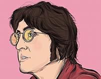 John Lennon illustration