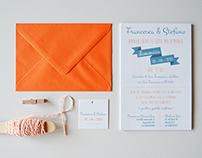 Francesca e Stefano Wedding Invites
