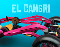 El Cangri. Personal electric vehicle