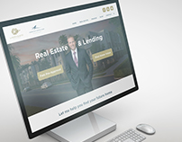 Real Estate and Lending Website Landing Page