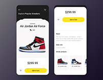 Sneakers store