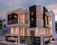 130 Sq.m Modern House