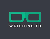 Watching.to UI/UX Design