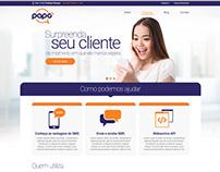 Site Papo SMS
