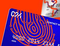 Айдентика нового цифрового финансоваго сервиса